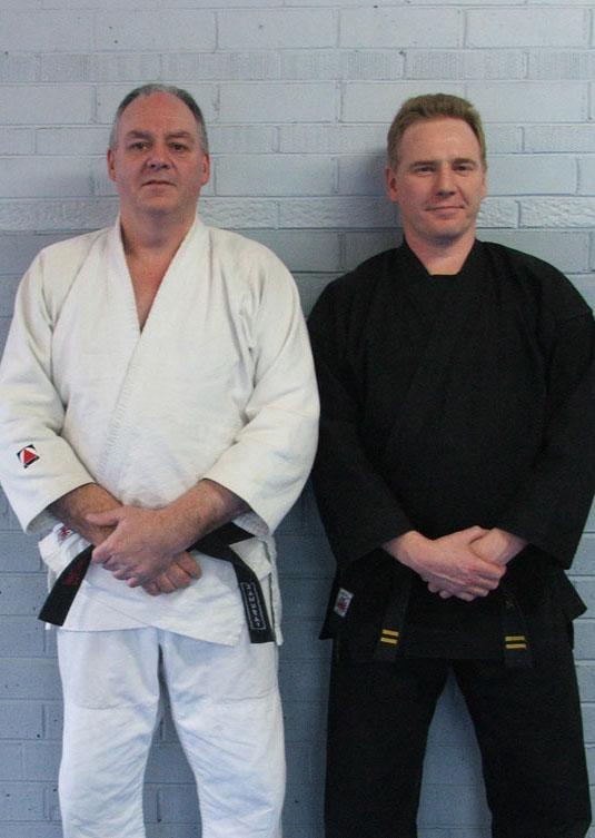 Mal McRae and David Eke