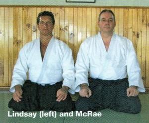 Aikido and Bob Jones join ki forces (photo)